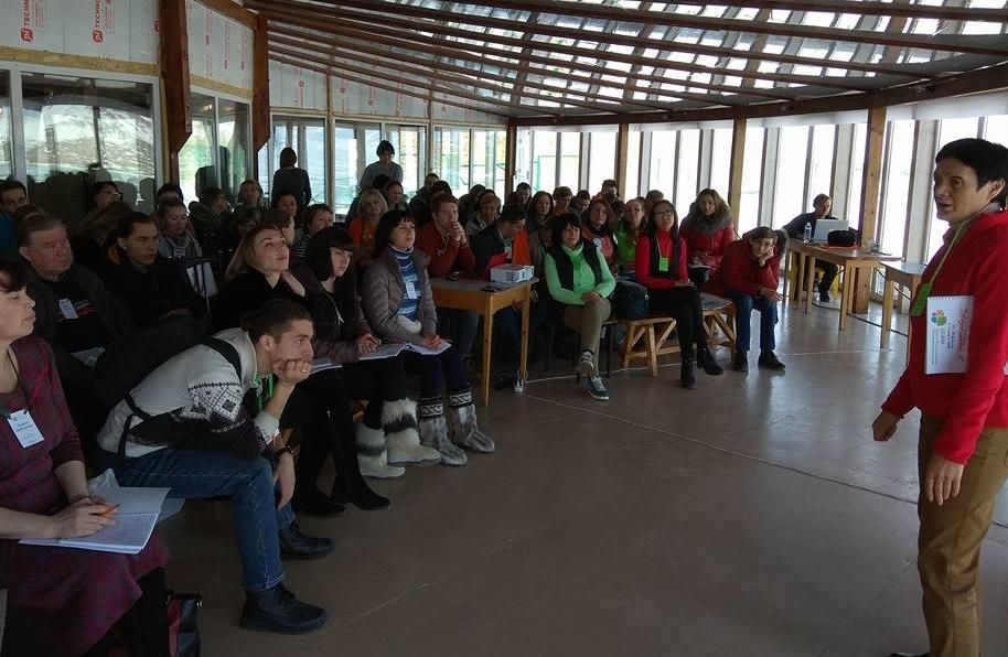 Открытие 12ой сессии Школы экопредпринимательства на Байкале