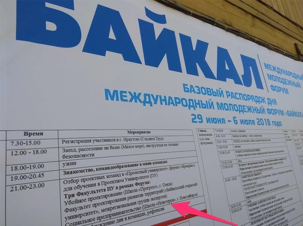 Технология проектно-предпринимательского тренажёра ШСП Ноеотерра прошла испытания на Форуме Байкал